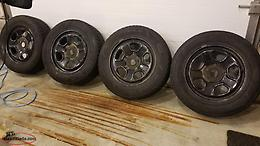 245/60R18 Explorer rims and tires
