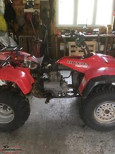 Parting out a 2001 Honda 350