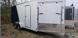 2019 7 x 18 + 5V Enclosed Trailers