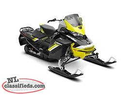 Fun 'n' Fast DEMO DEAL - SAVE $5,000 on a 2018 Ski-Doo MXZ Blizzard 850 E-TEC!