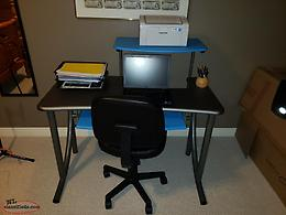 Solid Desk and Chair