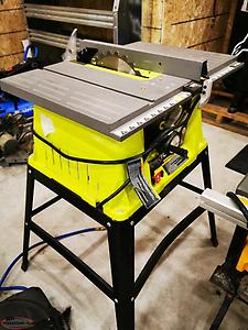 10 inch RYOBI Table saw 15amp