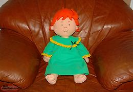 Caillou Plush Rosie Doll