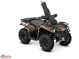 2018 Can-Am® Outlander™ Mossy Oak Hunting Edition 450 1-UP