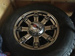 "After Market 5x150 bolt pattern 18"" Rims with Winter Tires"