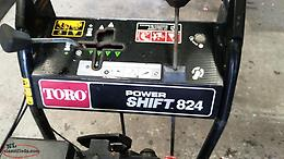 Toro power-shift snowblower