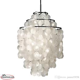 Beautiful Shell pendant light $70