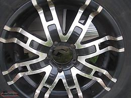 "Aftermarket 20"" Rims and Tires to fit Dodge Ram"