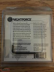 Nightforce Scope Rings