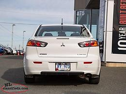 2016 Mitsubishi Lancer ES FWD - $130 B/w Taxes In!