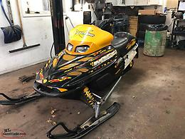 Skidoo's and trailer