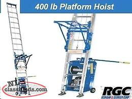 Gas Ladder Hoist
