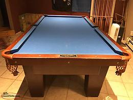 Pool Table by the Atlantic Billiard Co.