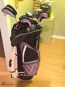 Ladies Golf Club Set and Golf Shoes - Excellent Deal !