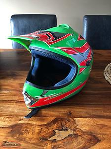 Dirt Bike Helmet Youth Large