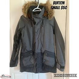 Burton womens winter coat