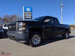 2014 CHEVY SILVERADO 4X4 - 4.3L V6 WITH 150,000KM; PERFECT WORK TRUCK!!!