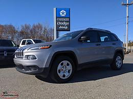 2015 JEEP CHEROKEE SPORT - GREAT SUV; LOW KILOMETRES + LOW PAYMENT!!!