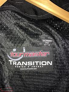 Ladies Tourmaster (motorcycle/snowmobile) jacket