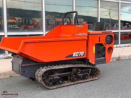 2016 Kubota KC70-4 Track Carrier (Dump Cart)