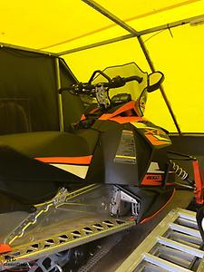 Skidoo and trailer