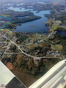 1.5 acre WATERFRONT Property on Junction Pond - Whitbourne, NL