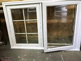 Two Wooden Working Windows