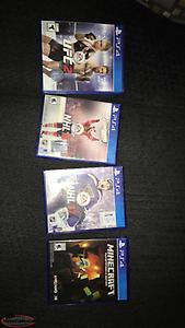 PlayStation 4 video games ps4