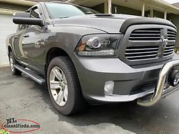2013 Dodge Ram Sport Crew Cab Loaded Was $23900.00 NOW $22900.00