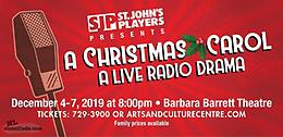 A Christmas Carol, A Live Radio Drama Dec 4-8, Sunday show added!!!