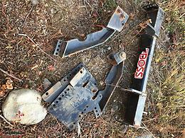 Parting out BOSS plow parts