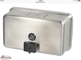 Stainless Steel Soap Dispenser ( BRAND NEW ITEM STILL IN THE BOX )