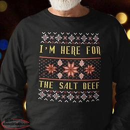 I'm Here for The Salt Beef
