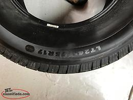 LT 245/75 R17, Michelin LTX M/S 2 Tires