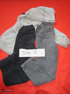 Size 7 Boys Clothing