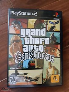 grand theft auto san Andreas for sale