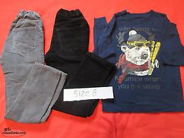 Size 8 Boys Clothing