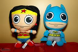 DC Batman and Wonder Woman Plush Dolls