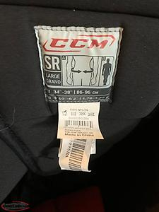 CCM Senior Hockey Pants (Size L) - never used