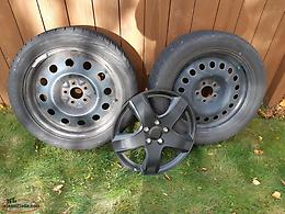 Winter Tires (R18) incl. wheels & wheel covers
