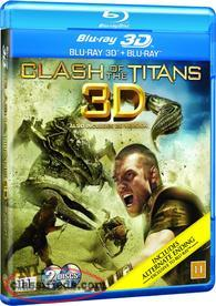 Clash of the Titans 3-D BLU-RAY & BLU-Ray (2-Disc) & Alice in Wonderland 3-D