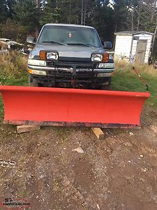 For Sale A Plow Truck