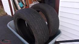 For Sale 2 Cooper M+S Tires