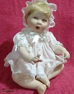 Ceramic Baby Doll Set