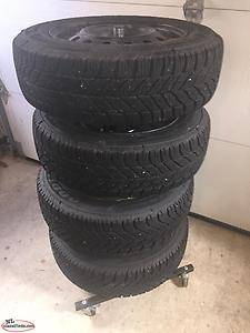 4X P195/65R15 Goodyear Ultragrip Winter Tires