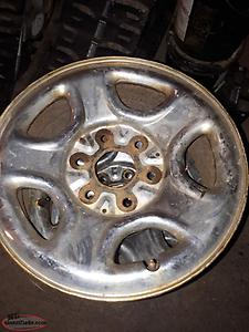 4 rims 16 inch 6 bolt chevy truck rims