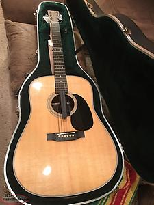 For Sale. Martin D28 Acoustic Guitar.