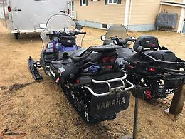 2005 Arctic Cat T660 Turbo And 2006 Yamaha RS Venture TF