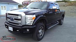 2016 F250 Super Duty Platinum Series Crew Cab 4X4(GAS)