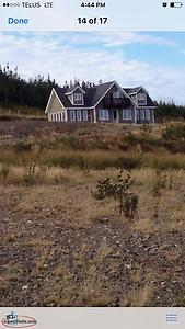 Ocean View Chalet on 3 acres of land ( Sale Pending )